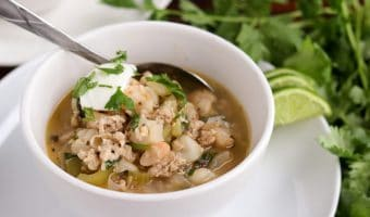 Green & White Chicken Chili