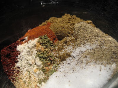 home made taco seasoning
