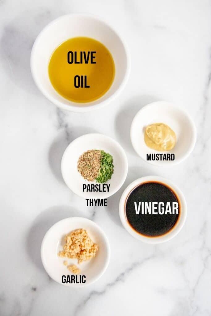 dijon mustard vinagrette ingredients