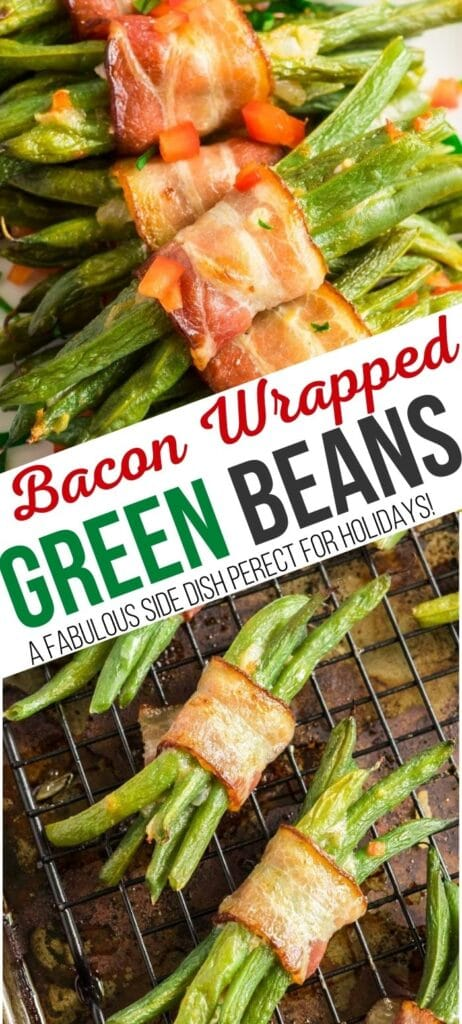 green bean bundles pin with text overlay