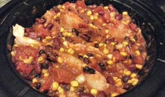 Chicken Chili (Crockpot)