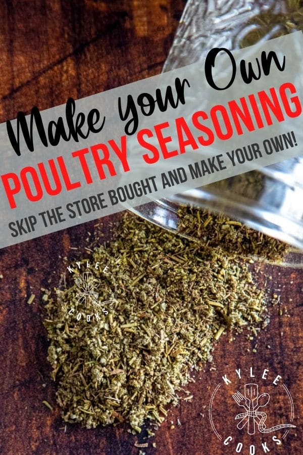 Poultry Seasoning pin with text overlay