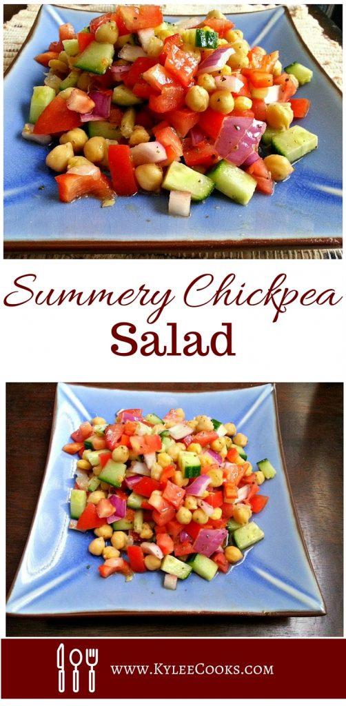 Summery Chickpea Salad
