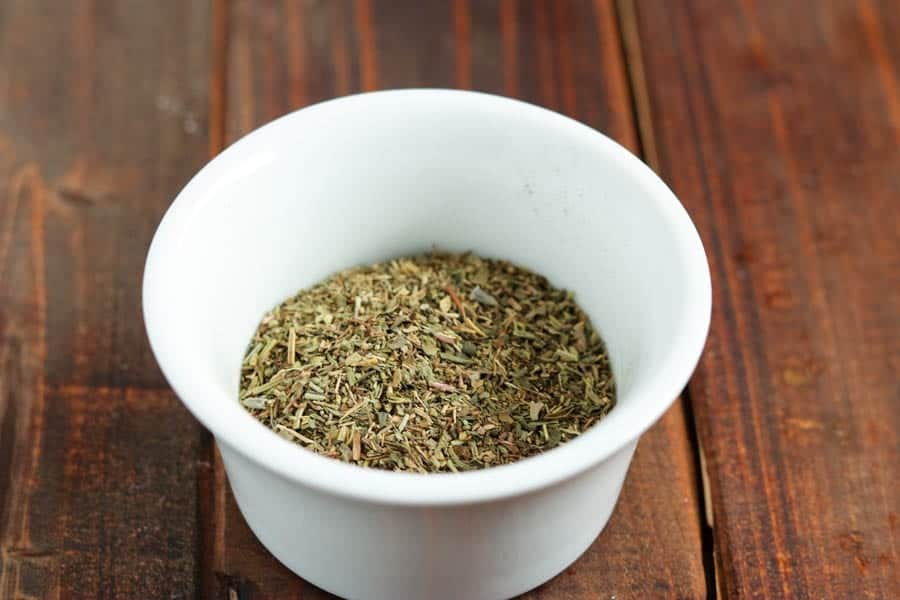 tuscan spice blend in a bowl