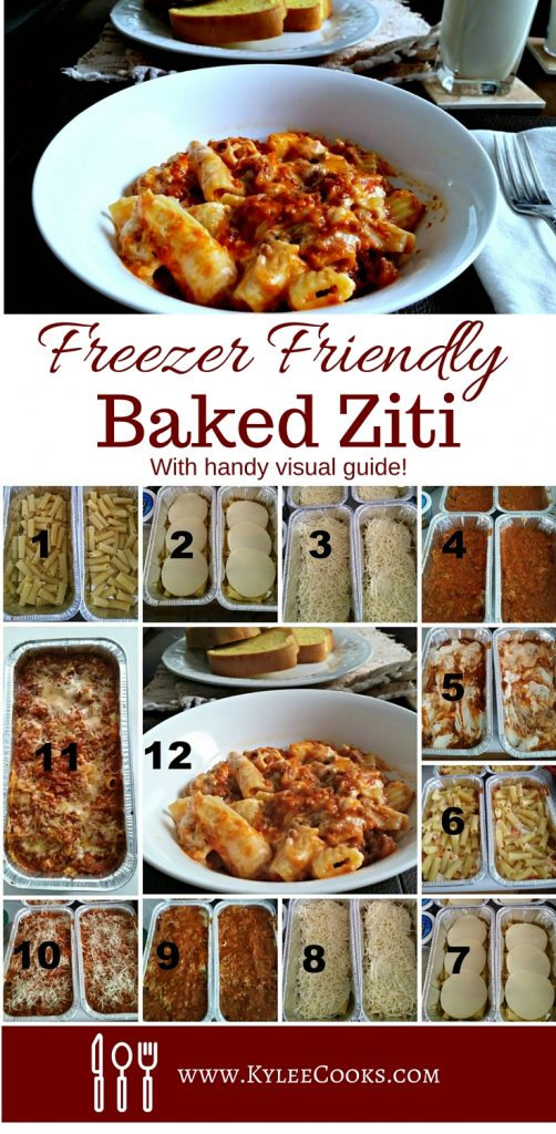 Baked Ziti (Freezer Friendly)