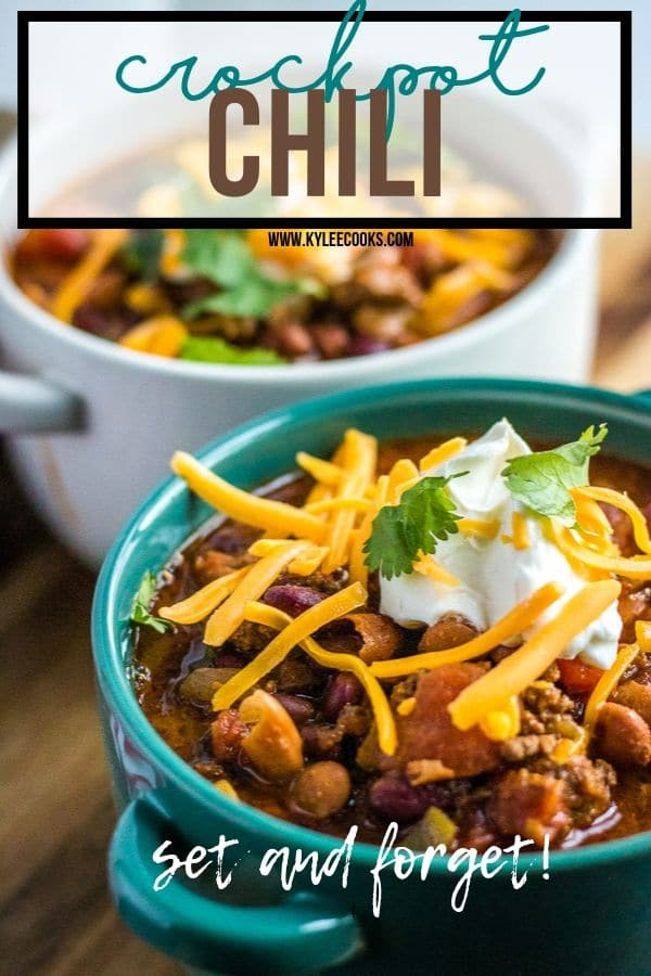 Crockpot Chili pin with text overlay