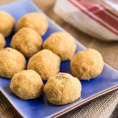 peanut butter protein balls - video stills-7
