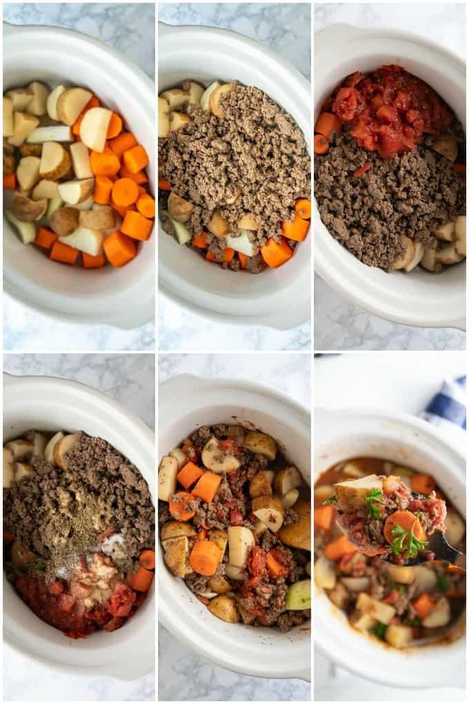 how to make hamburger stew