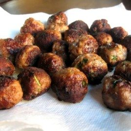 Thai Chicken Meatballs
