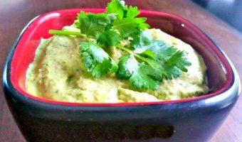 Cilantro-Jalapeno Hummus