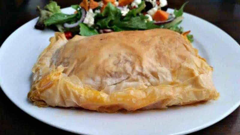 Beef & Cheese Phyllo Pies