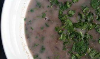 Super Fast Black Bean Soup