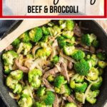 beef and broccoli pin with text overlay