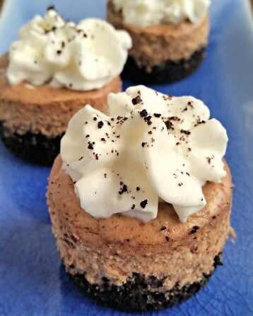 Kahlua (Mini) Cheesecakes