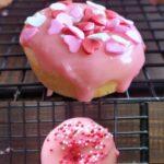 valentine's day mini donuts