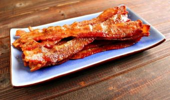 Oven Baked Bacon (Peppered Maple)