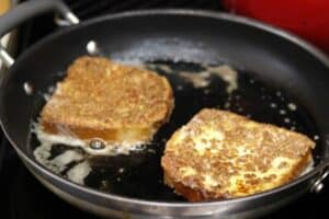 Cracklin' Oat Bran Crusted French Toast