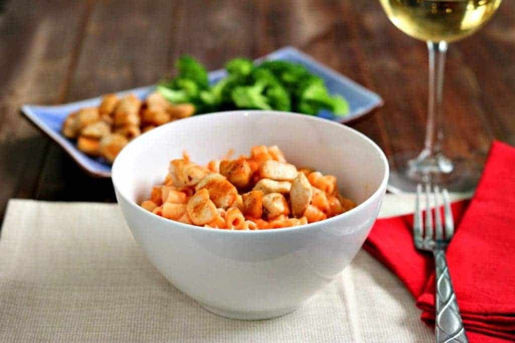 Easy Cheesy Pasta with Chicken