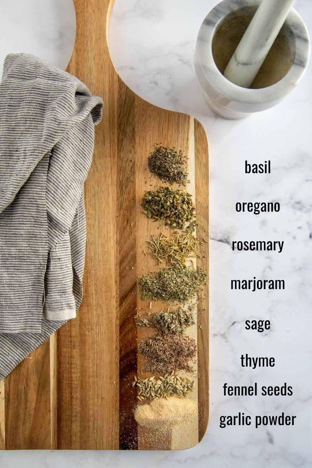 ingredients in tuscan seasoning