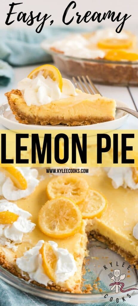 lemon pie pin with text overlay