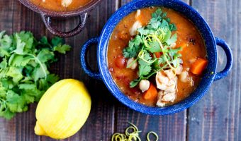 Spicy Moroccan Chicken Stew
