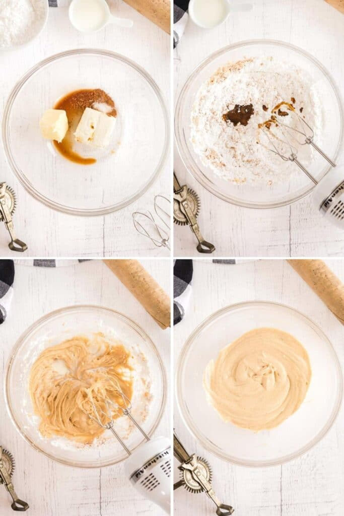 how to make pumpkin frosting