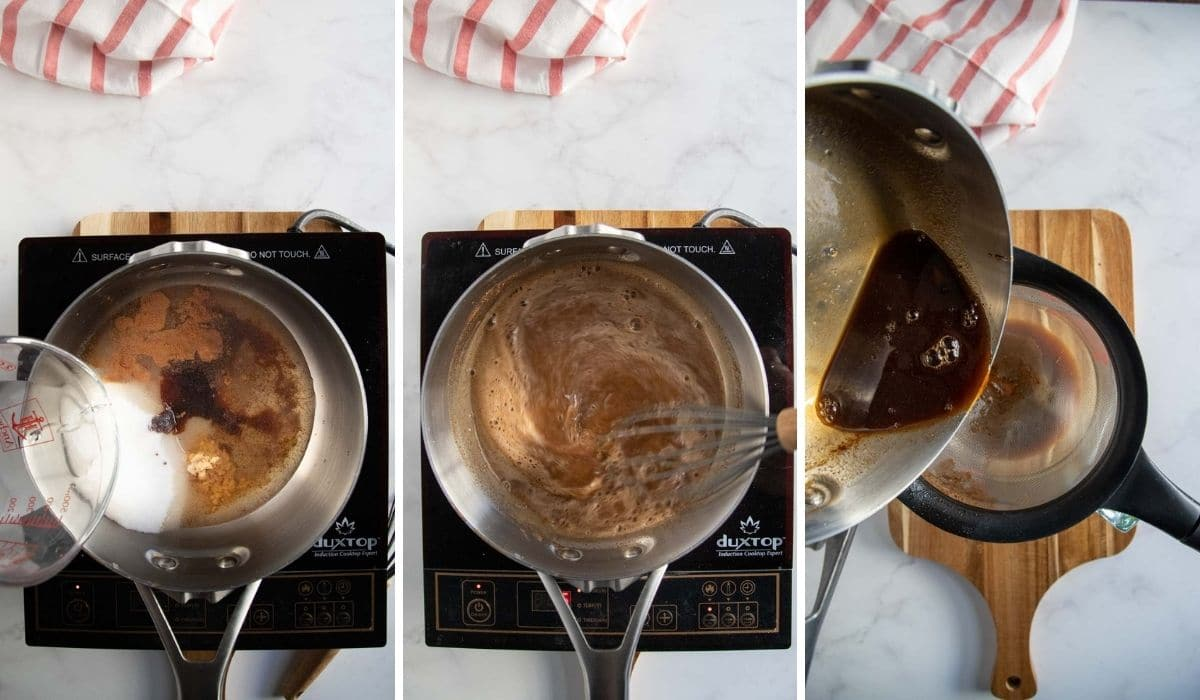 how to make gingerbread syrup