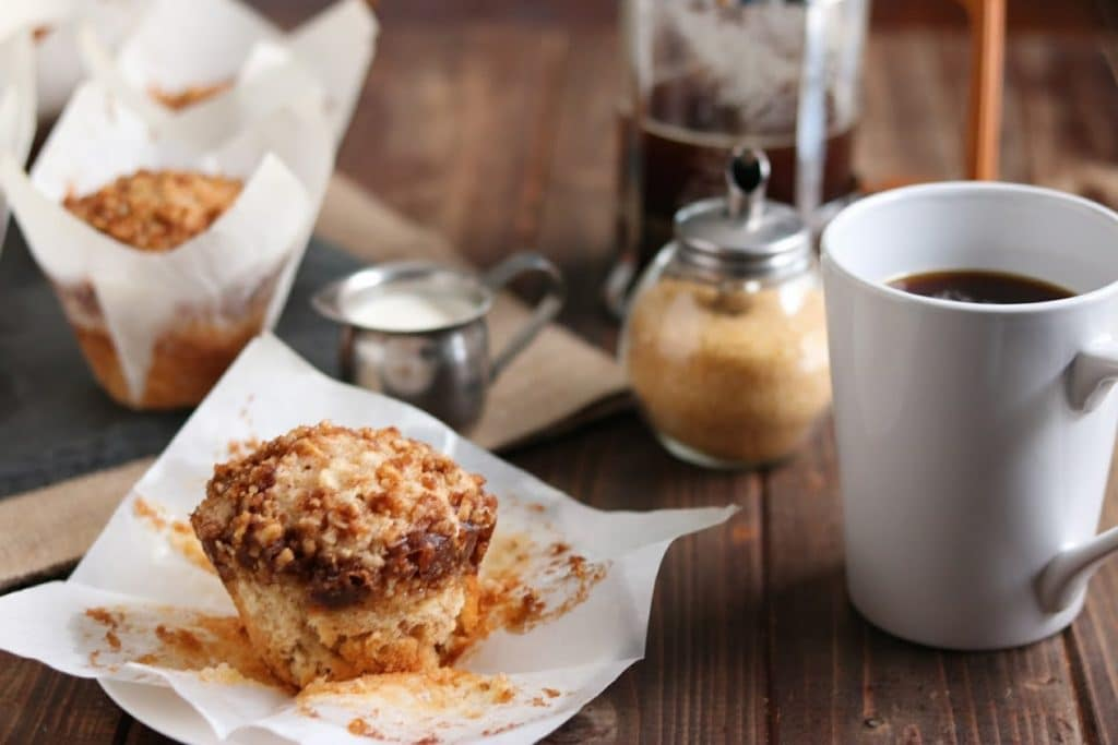 Homemade Coffee Cake Muffins Recipe
