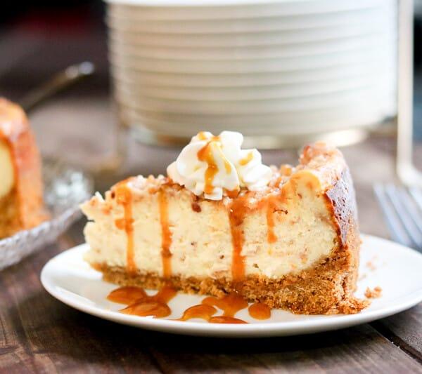 Toffee Caramel Cheesecake