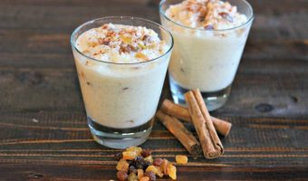 Creamy Old Fashioned Rice Pudding