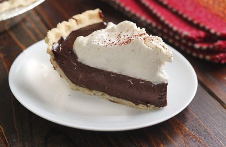 Chocolate Mocha Cream Pie