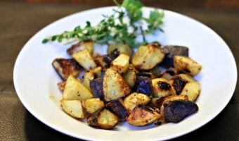 Honey Mustard Roasted Baby Potatoes