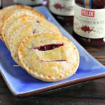 Lingonberries & Cream Hand Pies + GIVEAWAY