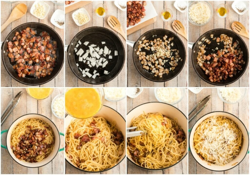 Classic Spaghetti Carbonara Kylee Cooks