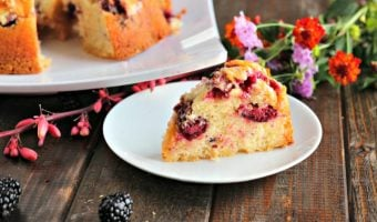 Fresh Blackberry & Yogurt Bundt