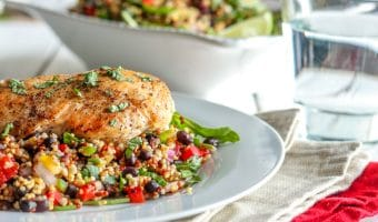 Healthy Quinoa & Black Bean Salad