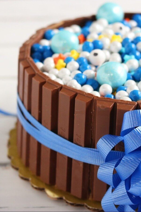 Celebration Kitkat cake