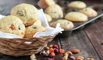 Tropical Trail Mix Muffins