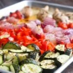 Sheet Pan Dinner – Chicken & Vegetables + Meal Prep