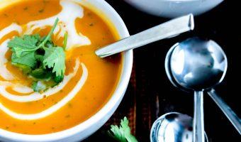 Thai Butternut Squash Soup (Instant Pot & Stove Top)