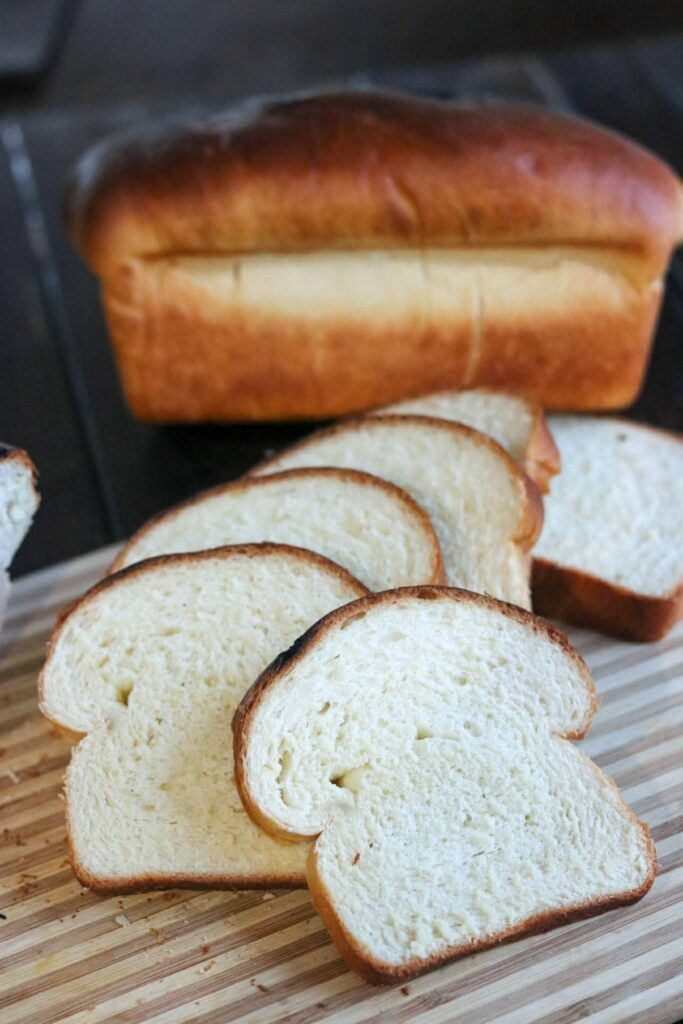 Soft Buttermilk Sandwich Bread - sliced