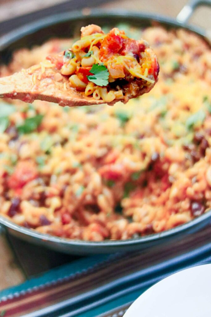 Skillet Turkey Chili Mac