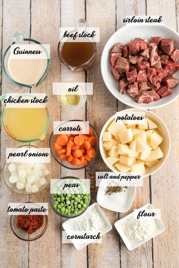ingredients in guinness beef stew