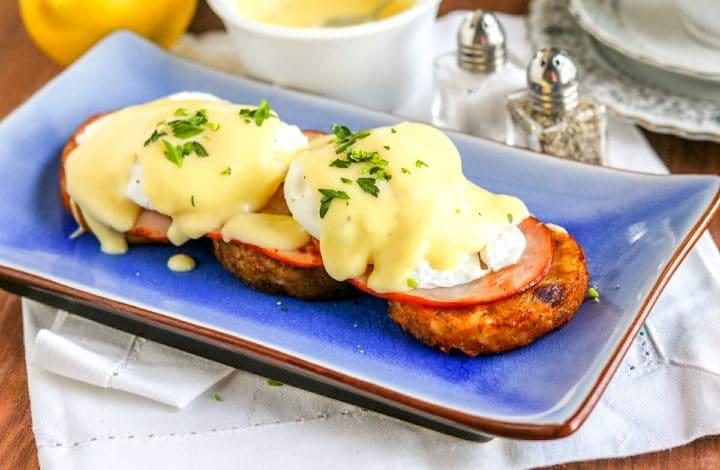Gluten Free Eggs Benedict