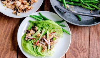Asian Chicken & California Prunes Lettuce Wraps with Chef'd