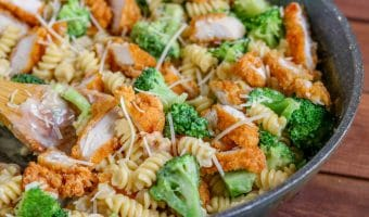 Broccoli Chicken Alfredo Pasta