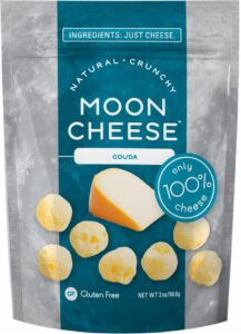Package of Gouda Moon Cheese.