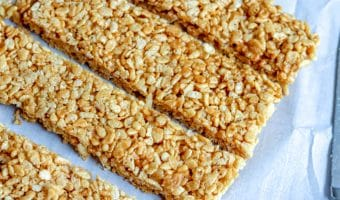 Caramel Rice Krispie Treats