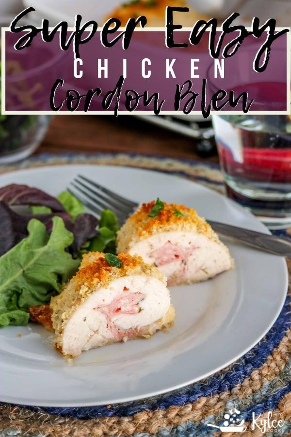chicken cordon bleu pin with text overlay