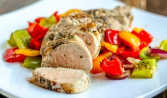 Pan Roasted Pork Tenderloin (30 minute dinner!)